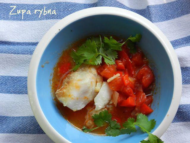 Stare Gary  Zupa rybna - hiszpańska caldo de pescado