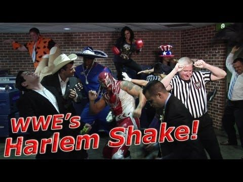 Yes, it's the Harlem Shake, #WWE style!