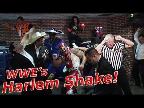 Yes, it's the Harlem Shake, #WWE style!