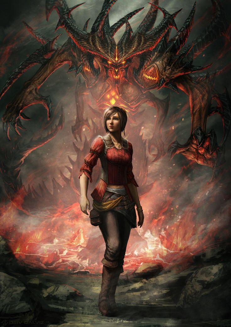 Diablo 3 Anniversary! | Deiv Calviz - Concept Art and Illustration