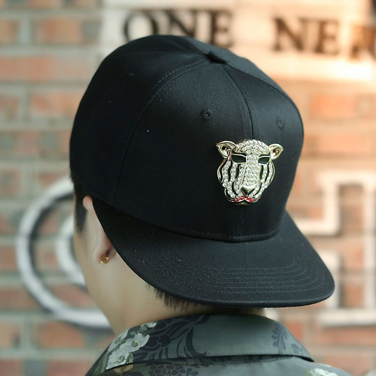 cool tigers baseball cap men black hip hop caps skyrim hat mod