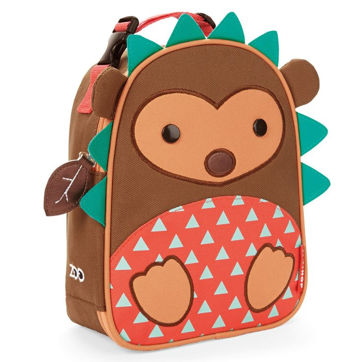 Skip Hop Zoo Lunchies Insulated Lunch Bag Hedgehog. #laylagrayce