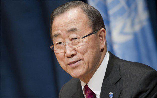 राष्ट्र महासचिव बान की-मून ने शुक्रवार को कहा कि लीबिया में अल्पसंख्यक समुदाय