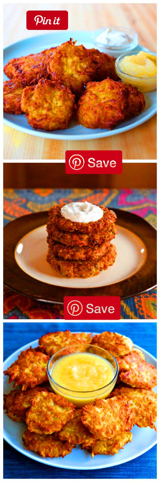 How to Make Crispy Perfect Latkes For Hanukkah Learn tips and tricks for making perfect latkes every time that are crispy outside fluffy inside. Includes links to several tested latke easys