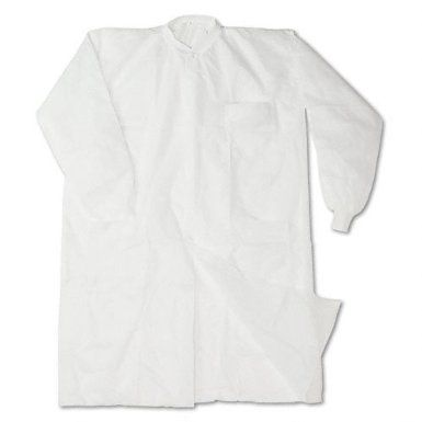 Amazon.com: Impressions Paper 7385L Disposable Lab Coats, Spun-Bonded Polypropylene, Large, White, 30/Carton: Office Products