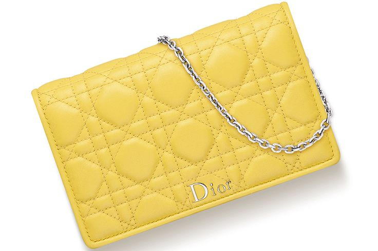 Lady Dior Wallet On Chain Bag