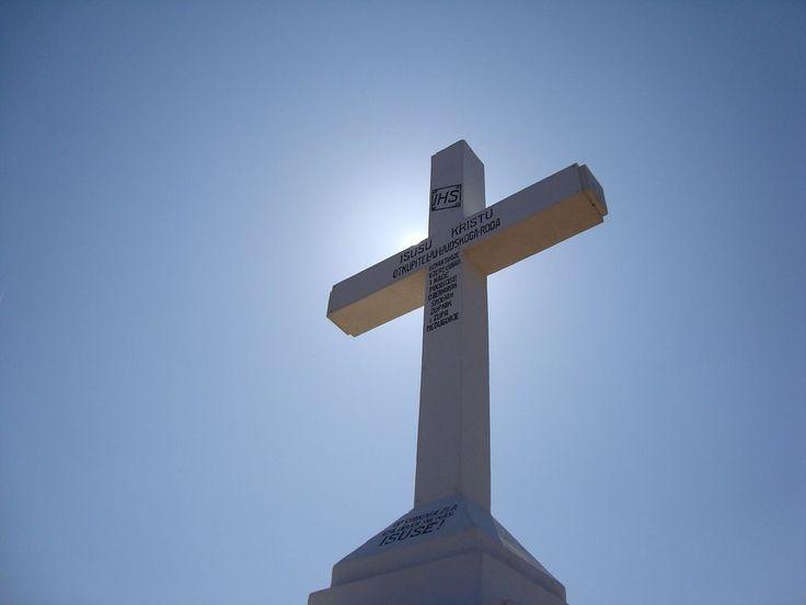 La Croce Bianca a Medjugorje
