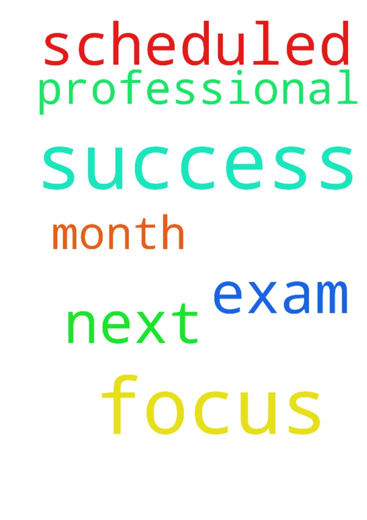 Prayer for focus & success in - Prayer for focus amp; success in professional exam scheduled next month Posted at: https://prayerrequest.com/t/vxy #pray #prayer #request #prayerrequest
