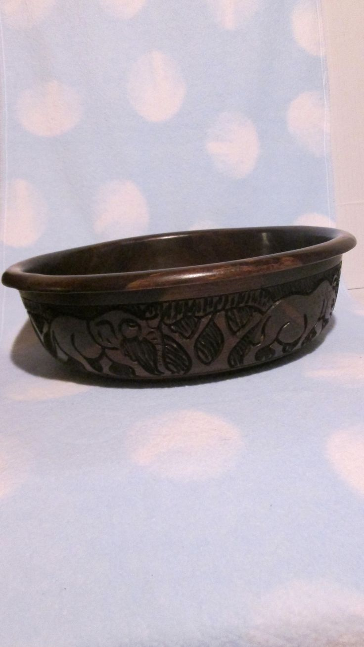 Wooden Bowl - Ebony - Large