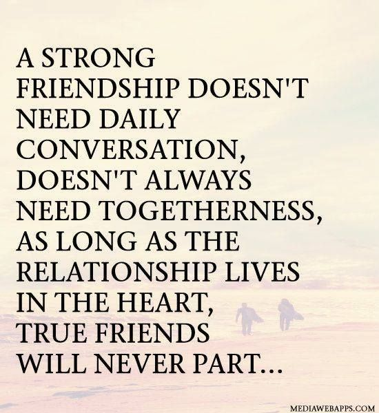 the heart of a true relationship
