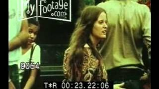 70s HIPPIE FASHION Stock Footage avail in HD