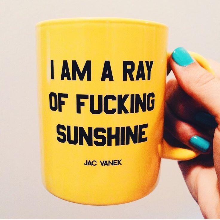 "cupcakekristie: ""jac vanek | sunshine mug """