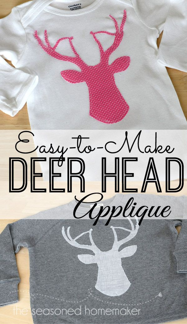 projects ideas dear head. Deer Head Applique 24 best quilt images on Pinterest  Baby afghans blankets