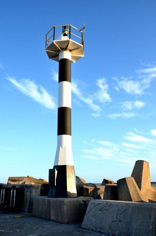 Richards Bay North Breakwater Lighthouse - Kwazulu Natal, South Africa