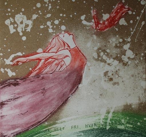 Bjørg Thorhallsdottir i Gulden Kunstverk, Grafikkutstilling