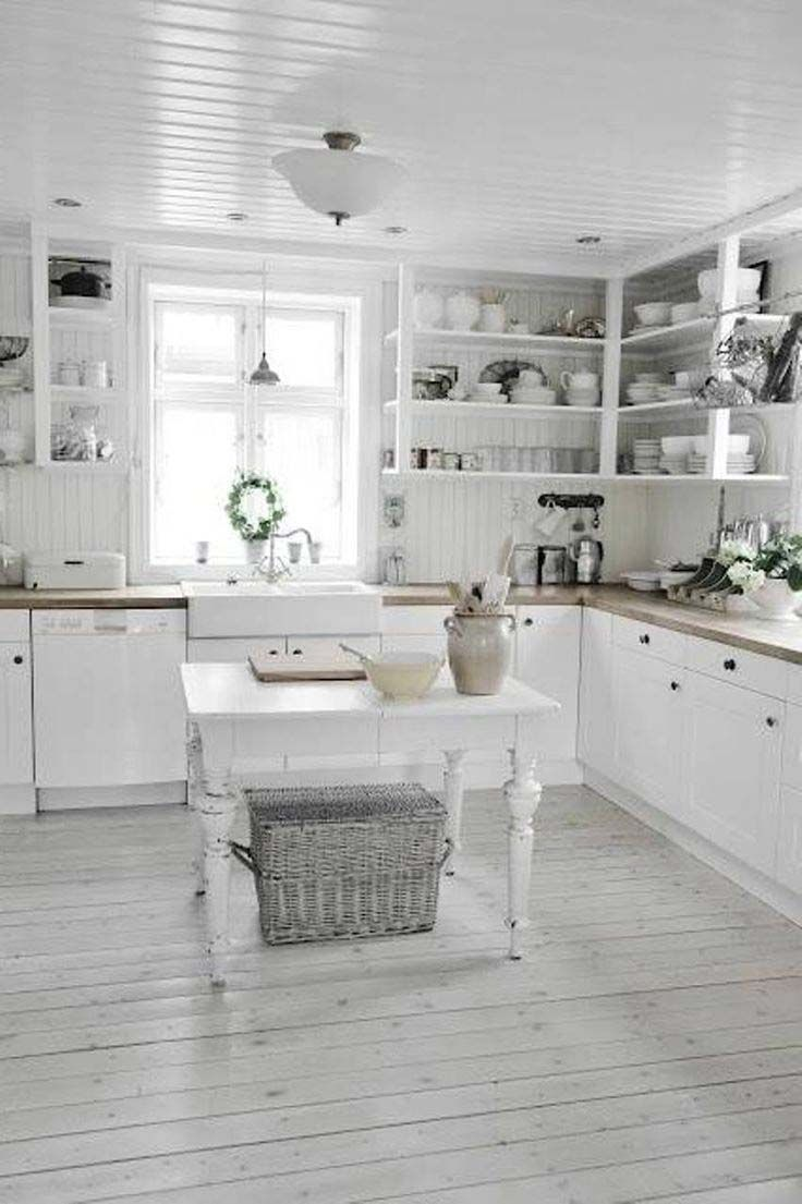 Shabby Chic Kitchen Flooring