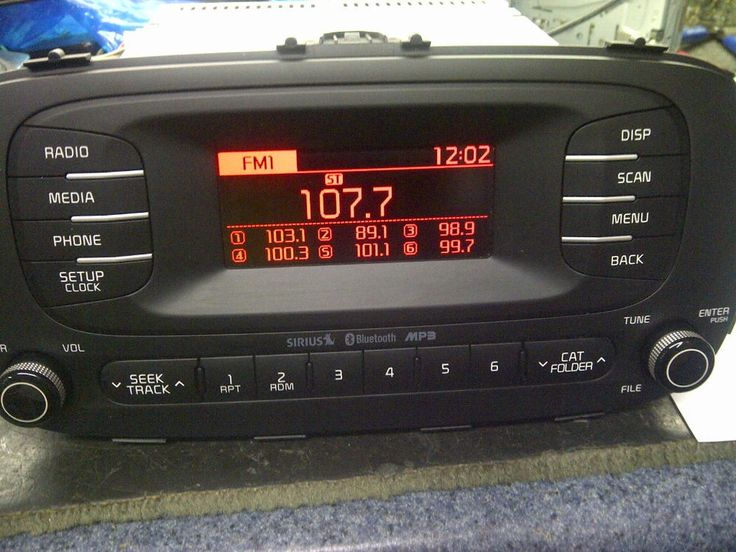 2014 KIA SOUL Factory OEM Radio Sirius MP3 Player Bluetooth 96170-B2090CA USA #Kia