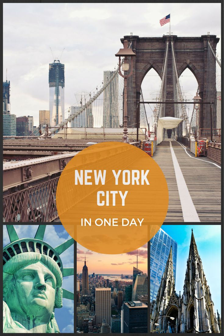 New York, baby! Discover The best of #NewYorkCity in just one day with #Tripomatic itinerary. Do you feel like changing a plan? Get inspired from what is around and adjust your trip. http://www.tripomatic.com/trip-planner/#/?trip=*55a3ce2fe7f01