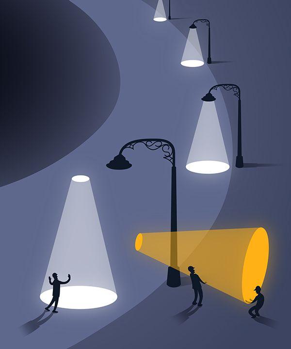 Editorial Illustrations: Part II on Behance