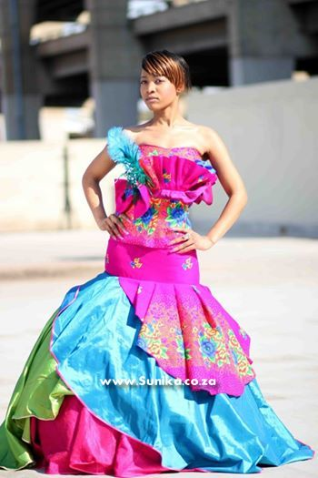 Modern XiTsonga Wedding dress
