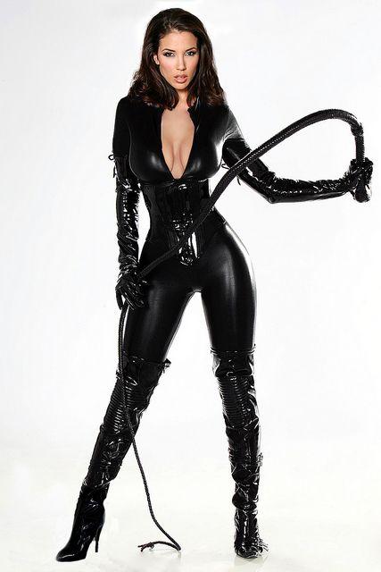 leather femdom