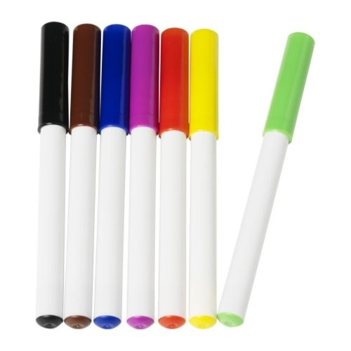 MÅLA  Whiteboard pen, assorted colors  $2.99 / 7 pack