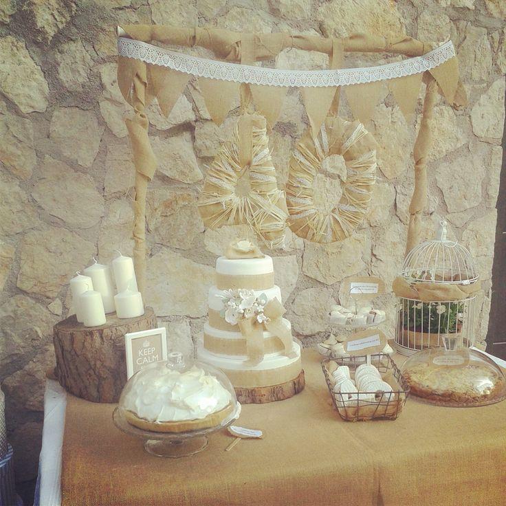 Desert Table rustic chic birthday