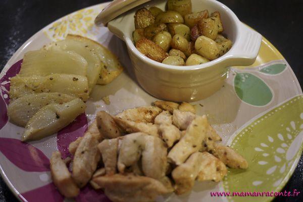 Poulet anisé au pastis et au fenouil