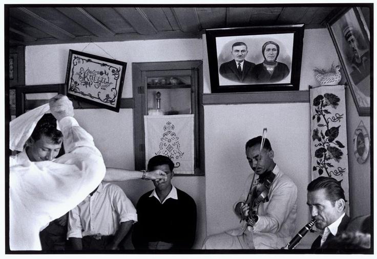 "Constantine Manos. Greece. Trikeri. 1964. Dancing at a wedding. ""A Greek Portfolio"" p.82. © Costa Manos/Magnum Photos"