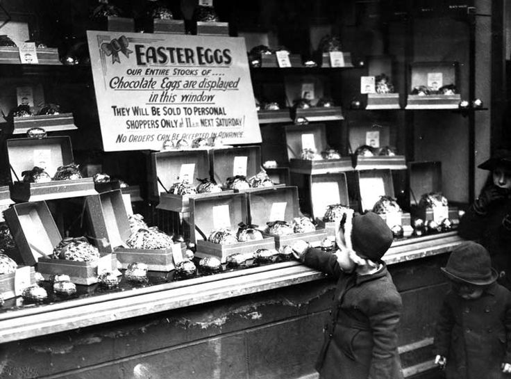 Easter Eggs, Liverpool, c1950