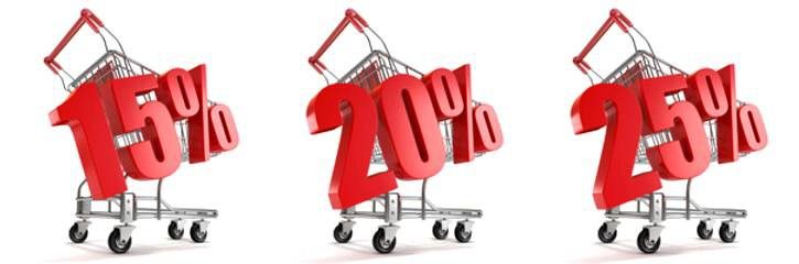 Распродажа! С 18 по 28 февраля! Скидка -25% на все итальянские ткани с артикулом 4- в главном зале магазина. А так же скидка -20% на ткани с артикулами 4- и 14- в зале №3. В отделе весового лоскута (зал №2) скидка на все шерстяные ткани -15%.