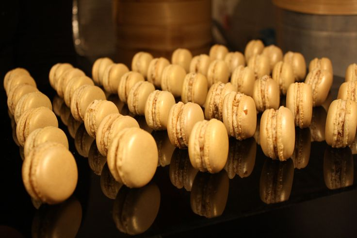 Gold Macarons By Josephine  Picture by Ed Dixon Food Design