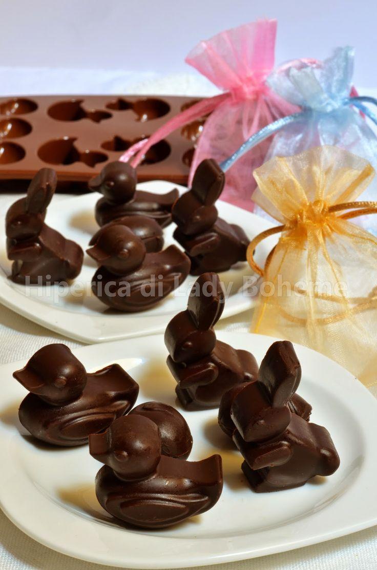 Italian Food - Cioccolatini pasquali (Easter Chocolates).