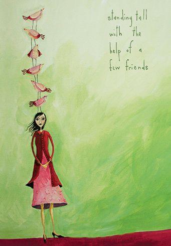 Standing Tall...with a help from a few friends! by Crispin Korschen