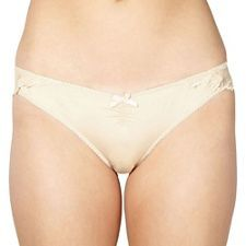 Debenhams White lace back Brazilian briefs | Debenhams
