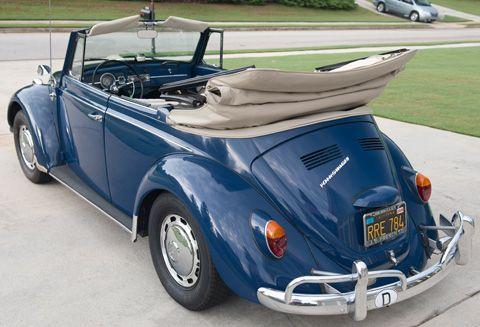 1967 VW Beetle Convertible For Sale @ Oldbug.com
