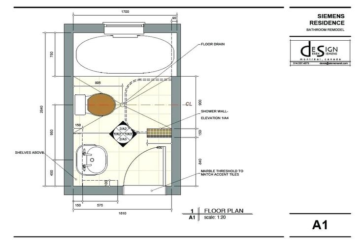 Free Bathroom Floor Plan Design Tool | Small bathroom ...