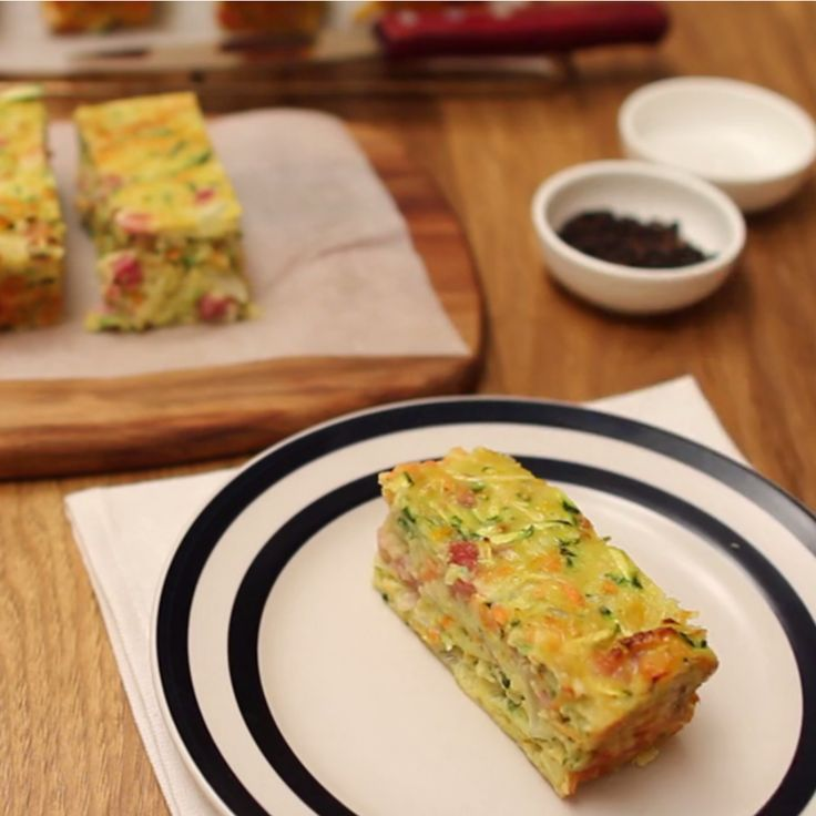 We've put together 31 back-to-school lunches starting with this Zucchini Slice by Debra Lee