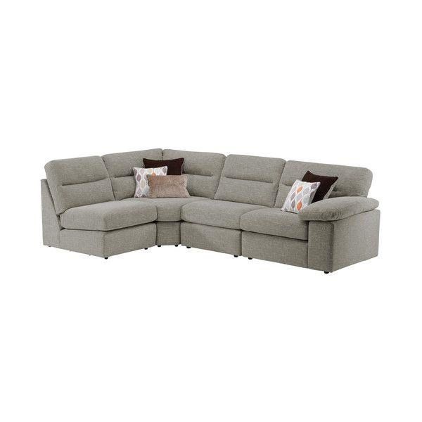 Mink Fabric Sofas Modular Group 5 Morgan Range Oak Furnitureland Modular Sofa Grey Fabric Sofa Mink Fabric Sofa