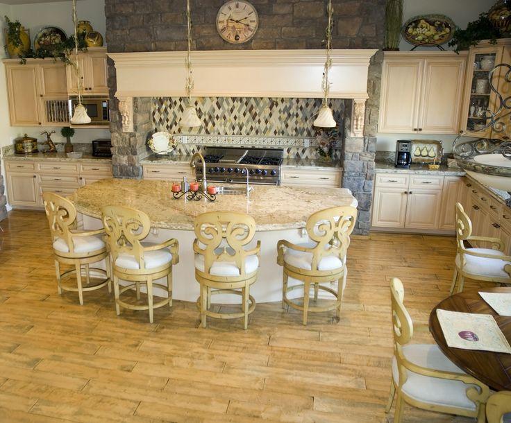 semi circular kitchen island home sweet home pinterest