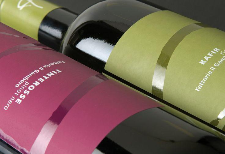 Wine label - Fattoria il gambero