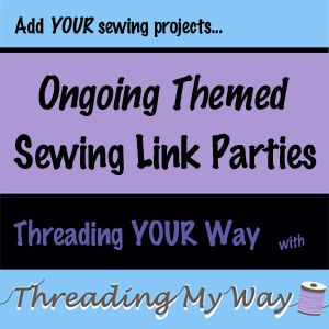 Threading My Way: Threading Your Way ~ Sewing for Charity ~ Link Party