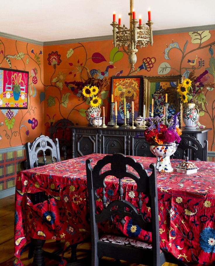 Colorful Boho Room: Best 20+ Orange Rooms Ideas On Pinterest
