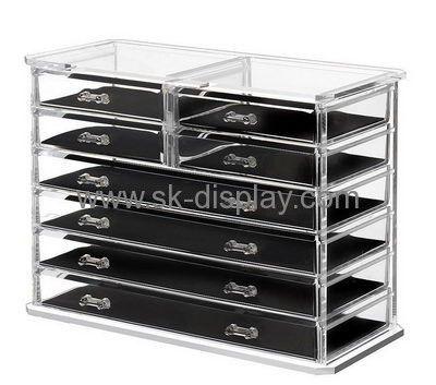 Custom Clear Box Makeup Organizer Countertop Makeup Storage Big Makeup  Organizer CO 280