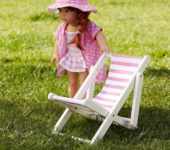 Chairs For Kids For Kids And Chairs On Pinterest Doll Sling Chair | Pottery Barn Kids | Dolly Furniture | Pinterest