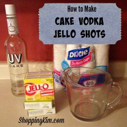 how to make clear flavored jello