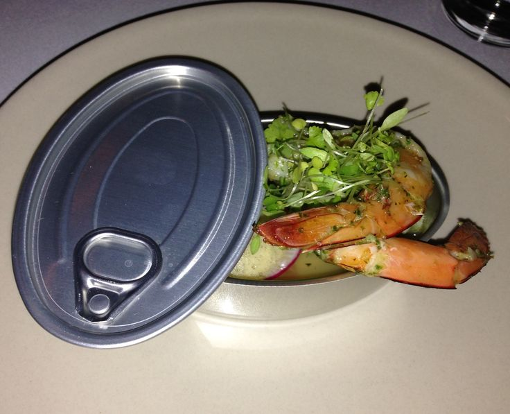 Truffles & prawns in a can! Delish  #darlingtonwineryestate