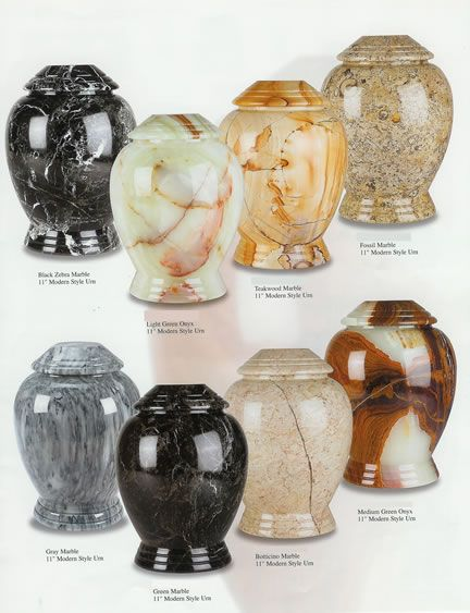Modern Style Marble Cremation Urns - Memorial Urns