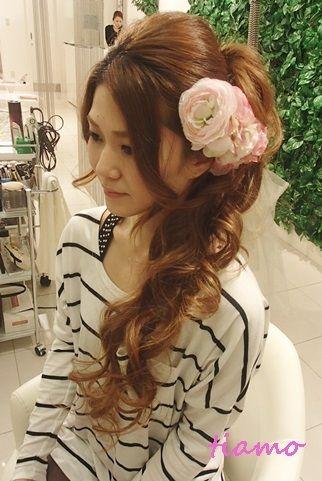 「 CUTEな花嫁さまのカールスタイル♡海外挙式リハ編♡ 」の画像|大人可愛いブライダルヘアメイク『tiamo』の結婚カタログ|Ameba (アメーバ)