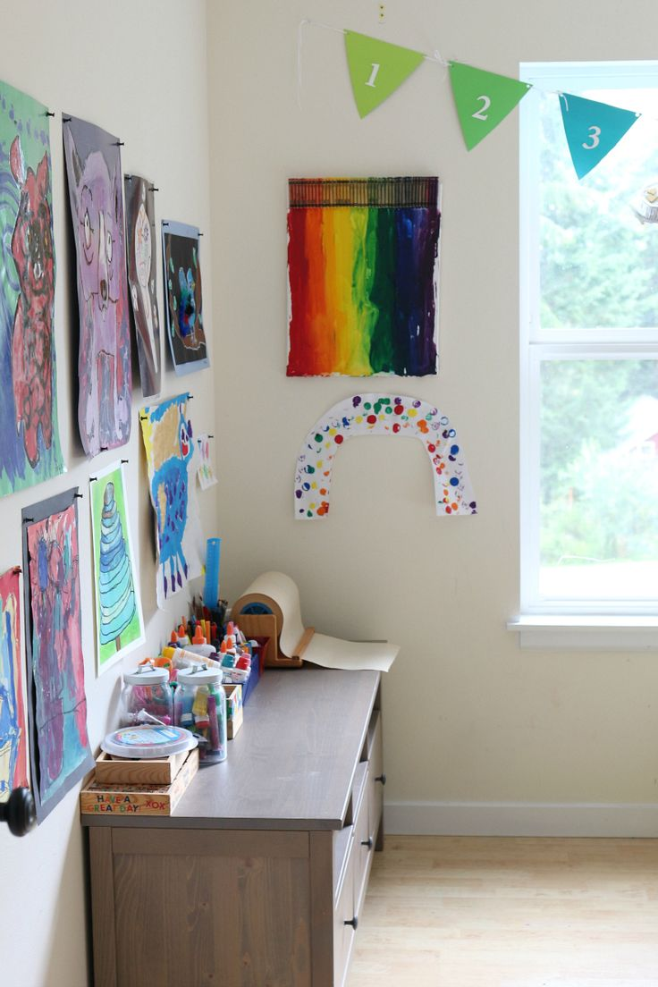 Choosing the paint colour for any direction room angela bunt - How To Turn Your Playroom Into A Maker Space